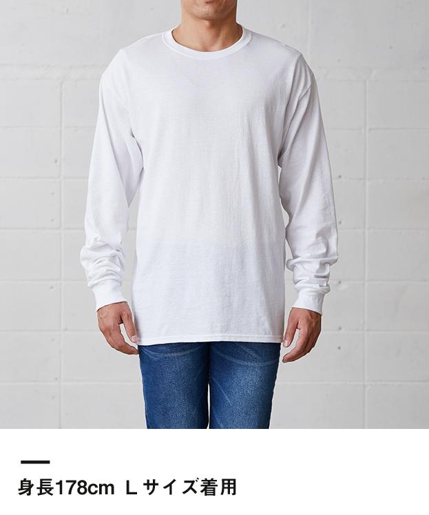 ジャージーズ DRI-POWER ロングスリーブTシャツ(29LSR)身長178cm Mサイズ着用