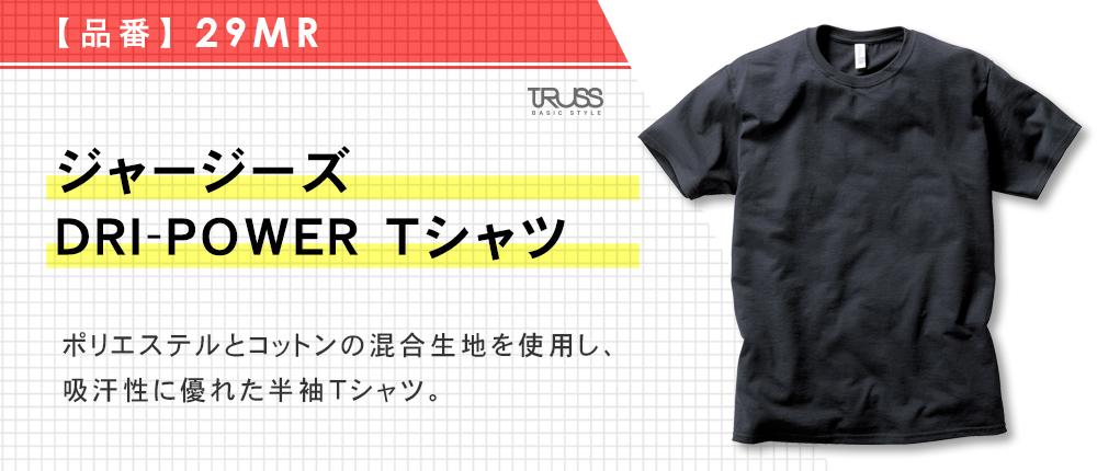 ジャージーズ DRI-POWER Tシャツ(29MR)6カラー・4サイズ