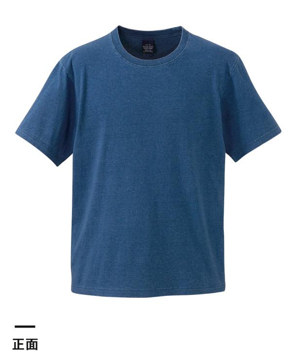 5.3オンス インディゴTシャツ(3990-01)正面