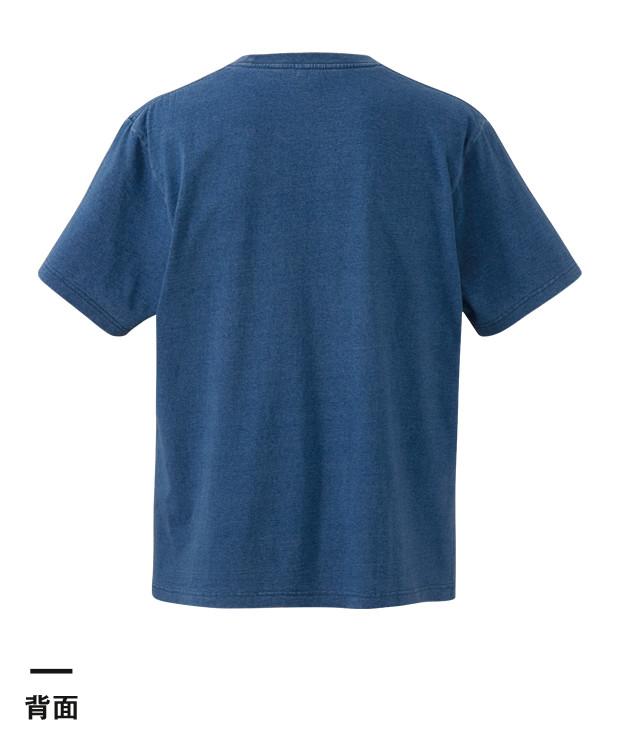 5.3オンス インディゴTシャツ(3990-01)背面