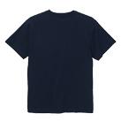 6.0オンス オープンエンドヘヴィーウェイトTシャツ(4208-01)背面