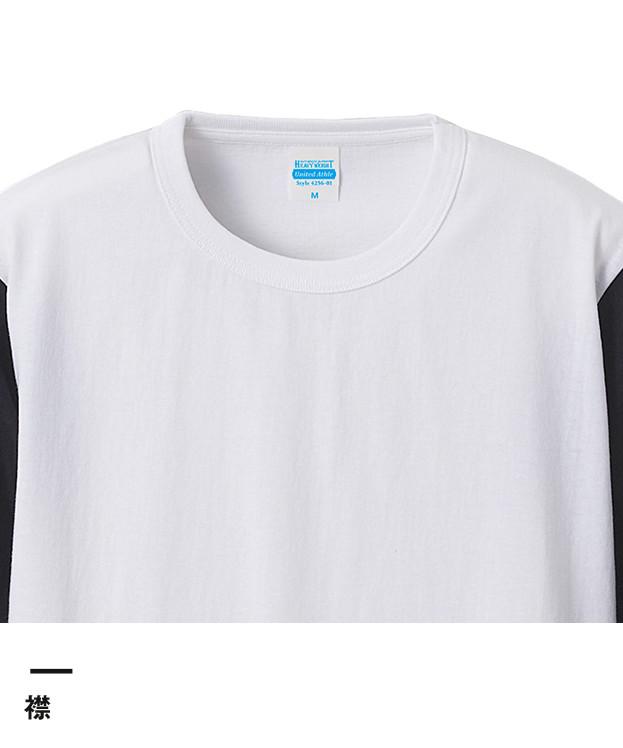 オーセンティック スーパーヘヴィーウェイト7.1オンス ベースボール3/4スリーブTシャツ(4256-01)襟