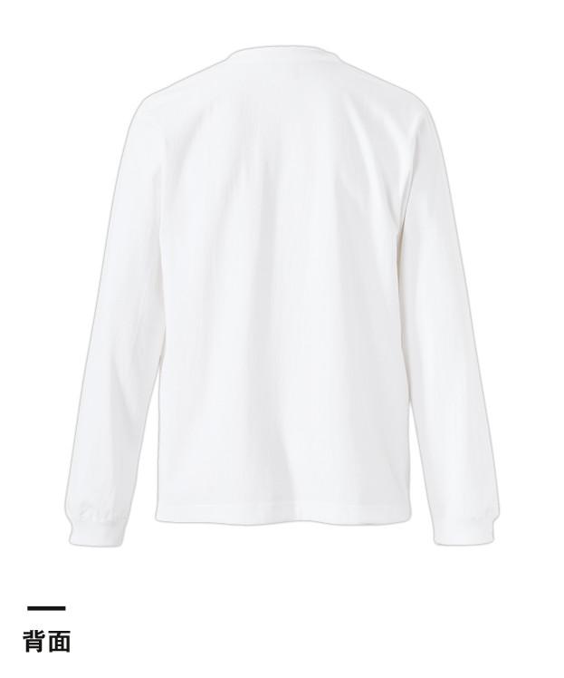 オーセンティック スーパーヘヴィーウェイト7.1オンス ロングスリーブTシャツ(1.6インチリブ)(4262-01)背面