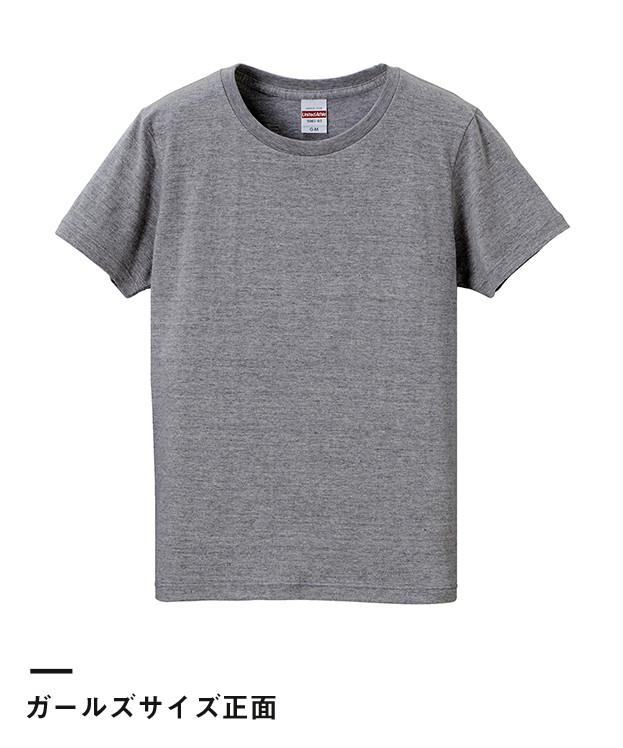 5.6オンス ハイクオリティーTシャツ(5001-01-02-03)ガールズ正面