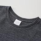 5.6オンス ロングレングスTシャツ(5009-01)襟