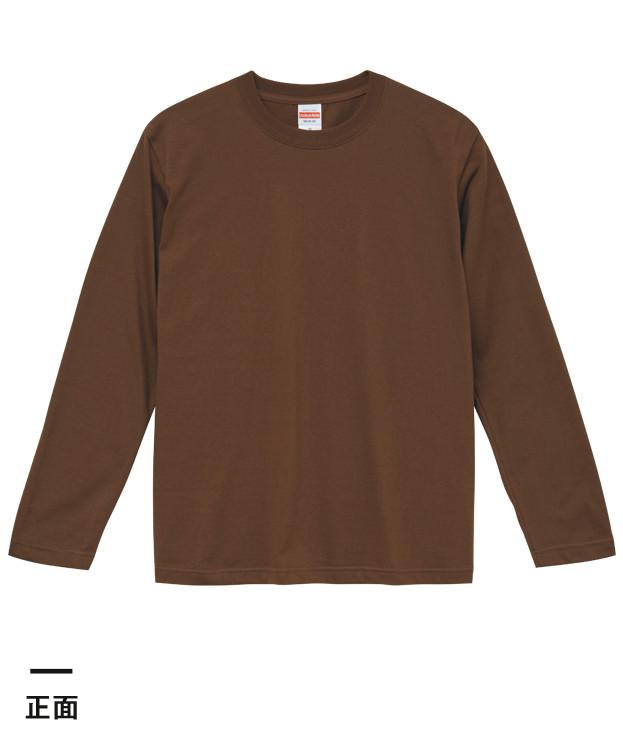 5.6オンス ロングスリーブTシャツ(5010-01)正面