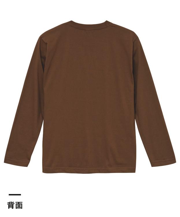 5.6オンス ロングスリーブTシャツ(5010-01)背面