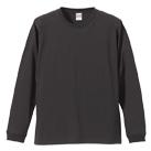 5.6オンス ロングスリーブTシャツ(1.6インチリブ)(5011-01)正面