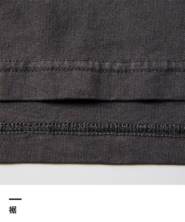 5.6オンス ピグメントダイTシャツ(5020-01)裾