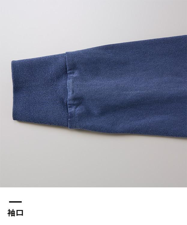 5.6オンス ピグメントダイロングスリーブTシャツ(4256-01)袖口