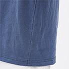 5.6オンス ピグメントダイロングスリーブTシャツ(4256-01)脇裾