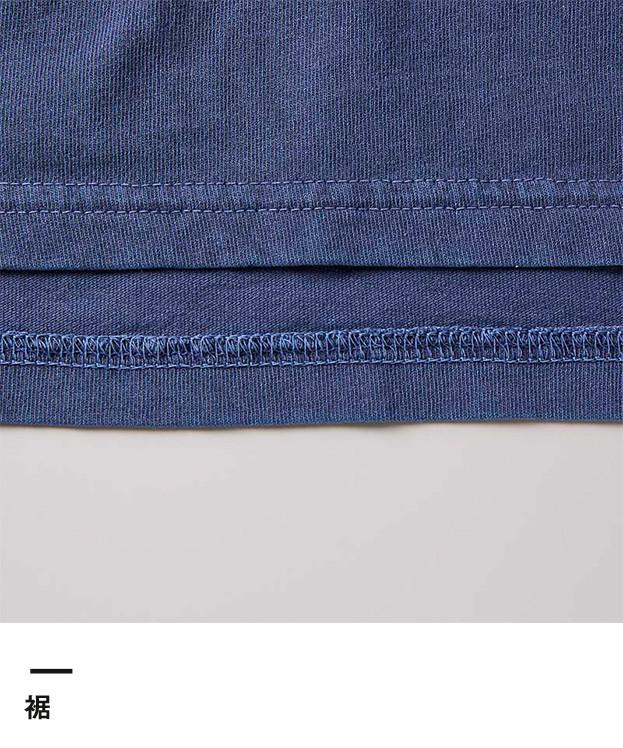 5.6オンス ピグメントダイTシャツ(ポケット付)(5029-01)裾