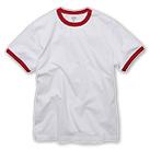 5.6オンス リンガーTシャツ(5030-01)正面