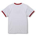 5.6オンス リンガーTシャツ(5030-01)背面