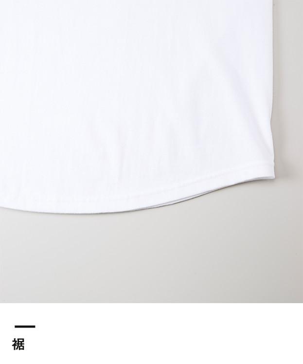 5.6オンス ラグラン3/4スリーブTシャツ(5045-01)裾