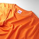 4.7オンス ドライシルキータッチTシャツ(ローブリード)(5088-01-02)襟