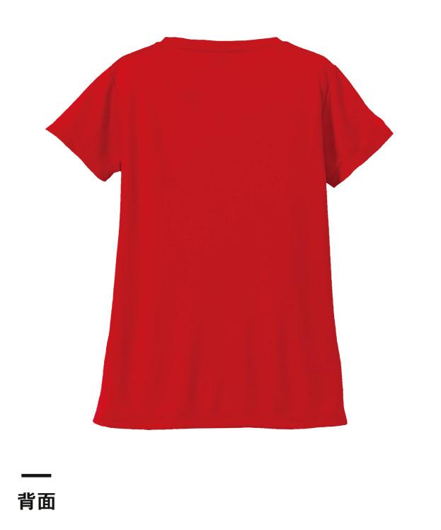 4.7オンス ドライシルキータッチXラインTシャツ(ローブリード)(5088-04)背面