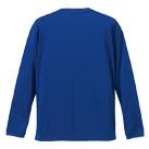 4.7オンス ドライシルキータッチロングスリーブTシャツ(ローブリード)(5089-01)背面