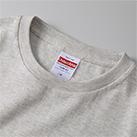 5.0オンス ユニバーサル フィット Tシャツ(5400-01-02)襟元