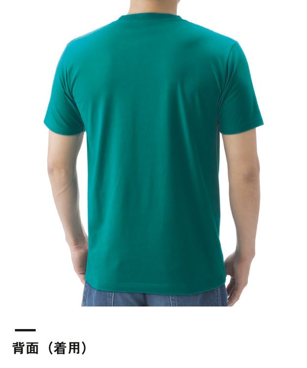 5.0オンス レギュラーフィットTシャツ(5401-01-02)背面(着用)