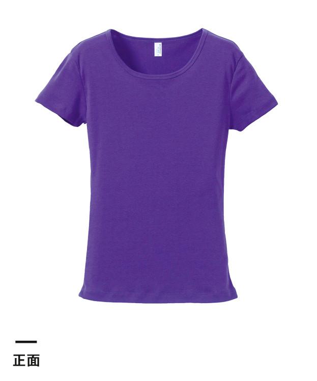 6.2オンス CVCフライスTシャツ(5490-04)正面