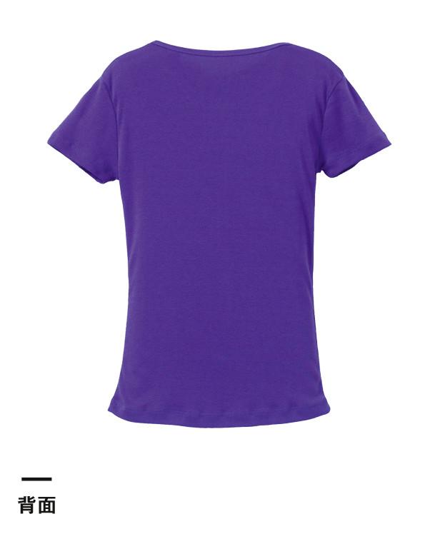 6.2オンス CVCフライスTシャツ(5490-04)背面