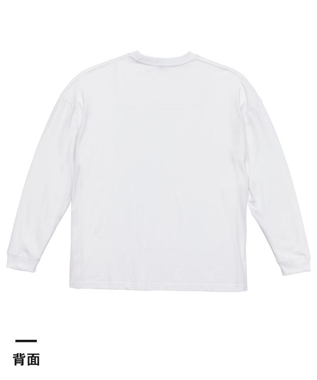 5.6オンス ビッグシルエット ロングスリーブTシャツ(5509-01)背面