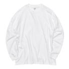 5.6オンス ビッグシルエット ロングスリーブTシャツ(5509-01)正面