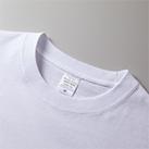 5.6オンス ビッグシルエット ロングスリーブTシャツ(5509-01)首リブは丈夫なダブルステッチ仕上げ