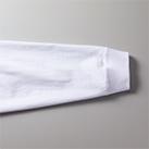 5.6オンス ビッグシルエット ロングスリーブTシャツ(5509-01)袖口の身頃とリブのシームラインは丈夫なダブルステッチ仕上げ
