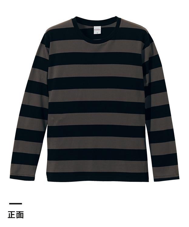 5.0オンス ラグラン3/4スリーブTシャツ(5519-01)正面