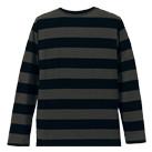 5.0オンス ラグラン3/4スリーブTシャツ(5519-01)背面