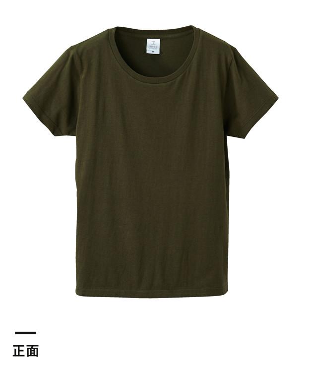 4.7オンス ファインジャージーTシャツ(ガールズ)(5745-04)正面