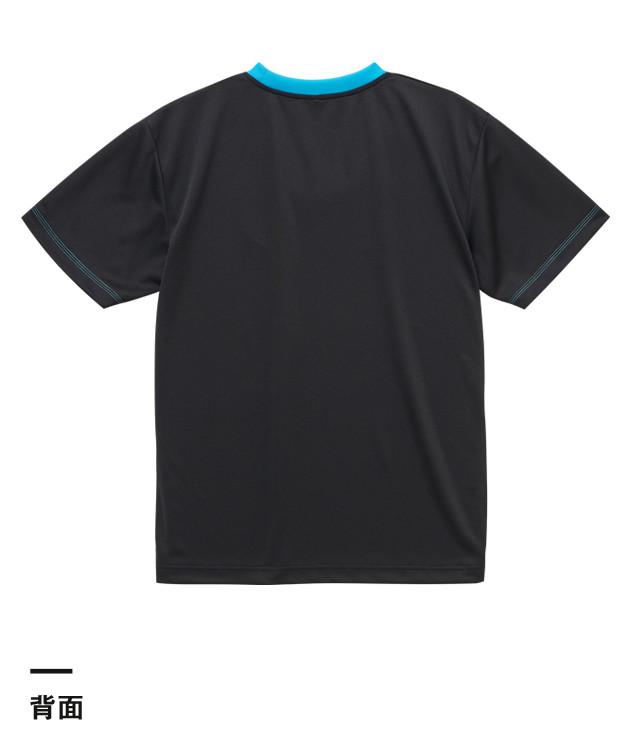 4.1オンスドライアスレチックTシャツ(5900-01-02-03)背面
