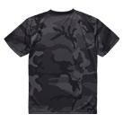 4.1オンス ドライアスレチックカモフラージュTシャツ(5906-01)背面