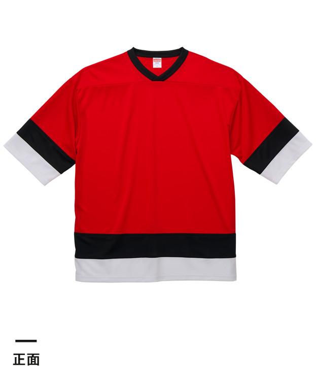 4.1オンス ドライホッケーTシャツ(5935-01)正面