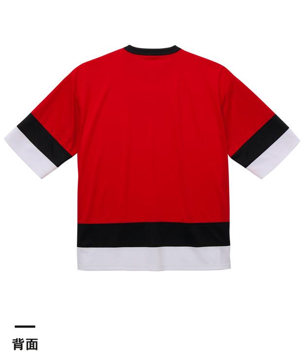 4.1オンス ドライホッケーTシャツ(5935-01)背面