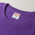 6.2オンス プレミアムTシャツ(5942-01)襟
