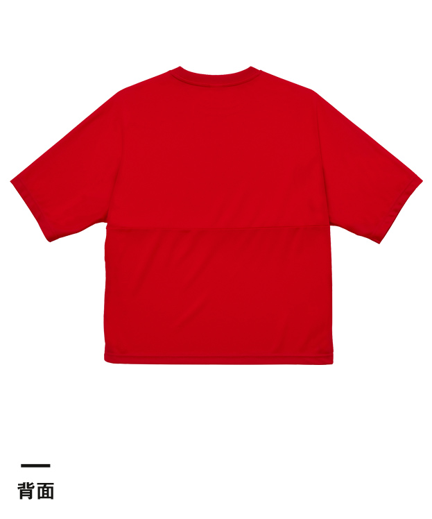 4.1オンス ドライアスレッチック ルーズフィット Tシャツ(5981-01)背面
