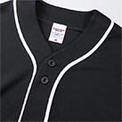 4.1オンス ドライアスレッチック ベースボール Tシャツ(5982-01)襟元