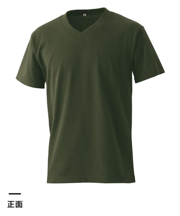 エアレットVネックTシャツ(AIR-020)正面