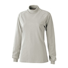 エアレット長袖ハイネックシャツ(AIR-040)女性着用イメージ(SS)