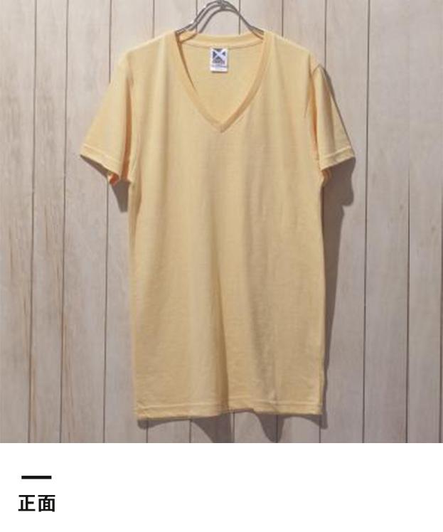 トライブレンドVネックTシャツ(CR1106)正面