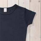 S/S Tシャツ(DM4312)袖口二本針 ロック始末