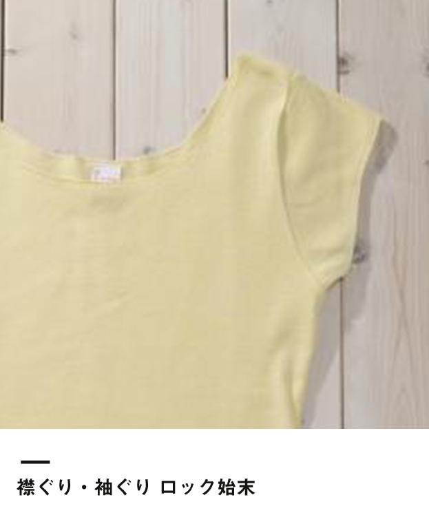 S/S Tシャツ(DM4320)襟ぐり・袖ぐり ロック始末
