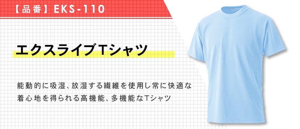 エクスライブTシャツ(EKS-110)12カラー・8サイズ