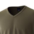 エクスライブVネックTシャツ(EKS-330)襟
