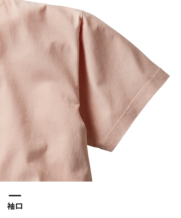 フードテキスタイルTシャツ(FTX-930)袖口