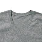オーガニックコットンVネックTシャツ(MS0302)襟