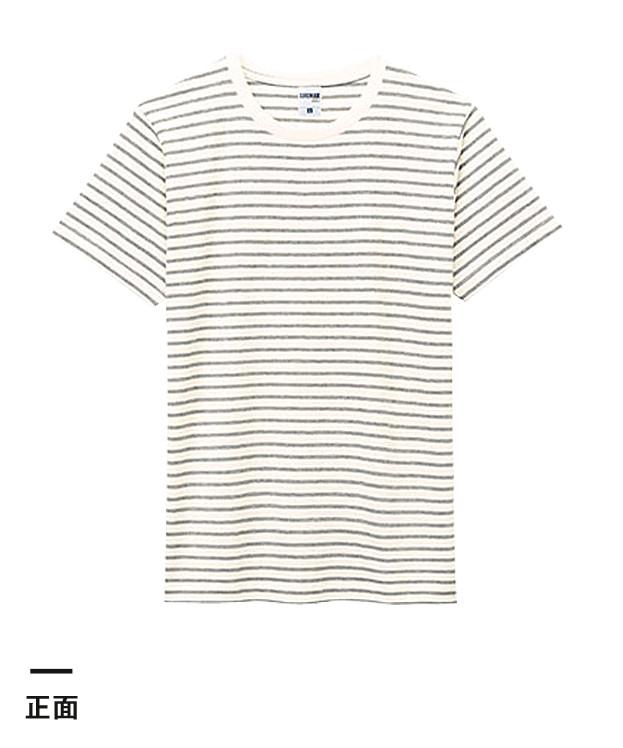 5.3オンス ユーロボーダーTシャツ(MS1141B)正面
